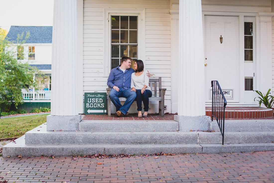 Boothbay Harbor Engagement